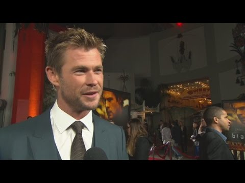 Red Carpet Report: Chris Hemsworth in 'Blackhat'