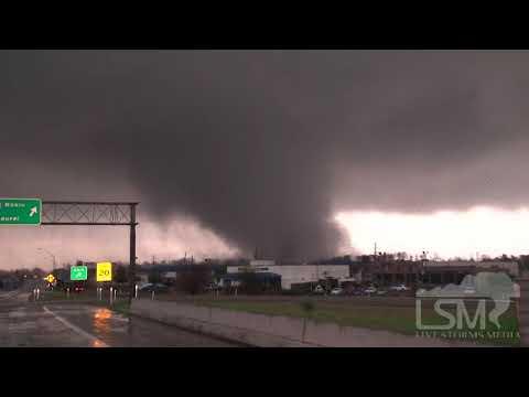 2/10/13 Hattiesburg, MS; Tornado RAW *John Sibley HD*