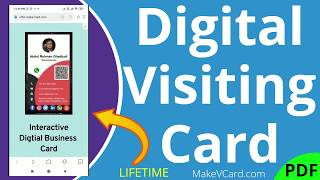 Digital Visiting Card | Digital Business Card | Digtial vCard | We Make vCard for you | MakeVCard screenshot 3