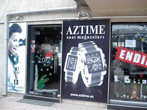AZTIME Izmir xaricden görünüş. Ünvan: İzmir küçəsi, 7B, Telefon: 012-510-94-70