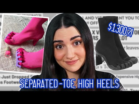 I Wore 5-Toe High Heels For A Week