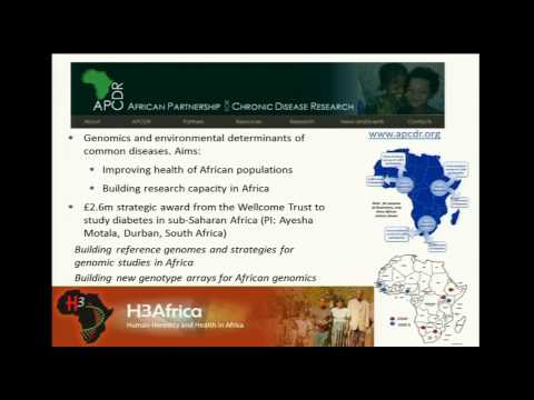Professor Gordon Dougan: Wellcome Trust Sanger Institute and Africa