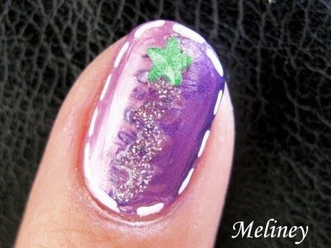 shooting star nail art tutorial