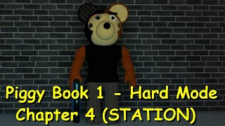 How to escape Piggy Book 1 - Hard Mode Station + Max's Memories Badge (FANMADE)