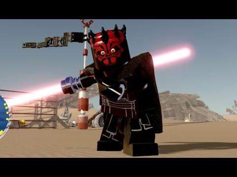 LEGO Star Wars: The Force Awakens - Darth Maul Unlock ...