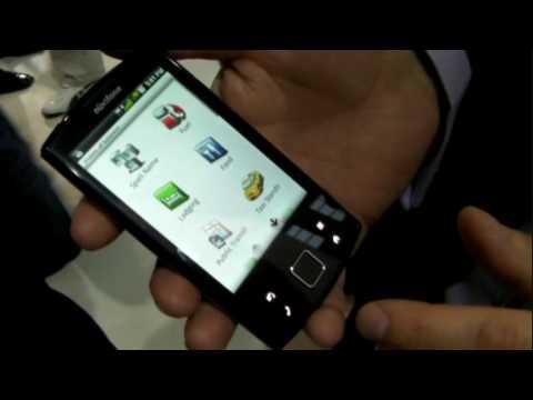 Mobile World Congress 2010 - Garmin-Asus Nuvifone A50