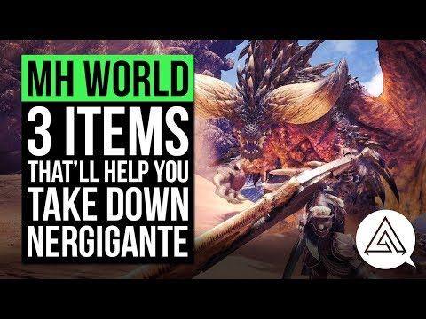 Monster Hunter World | 3 Items That'll Help You Take Down Nergigante in the Beta