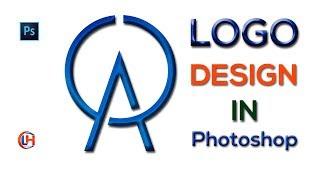 Photoshop cc Logo Öğretici|Nasıl Ao Bir Logo tasarımı eğitimi|এ ও লোগো ডিজাইন টিউটোরিয়াল|Logo Ev Yapmak