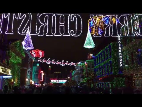 Last Moments Of The Osborne Family Spectacle Of Dancing Lights At Disney's Hollywood Studios