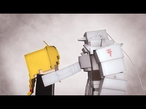 Fullmetal Alchemist: Brotherhood - Again (OP 1) [Minecraft Animation]