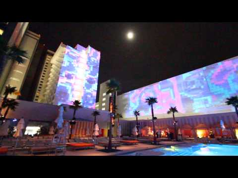 3D Image Mapping at SLS Las Vegas