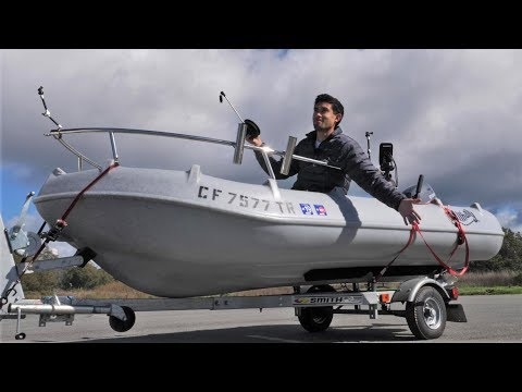 Butter Boat 2.0 - Indestructible, ALL PLASTIC Offshore Boat!!