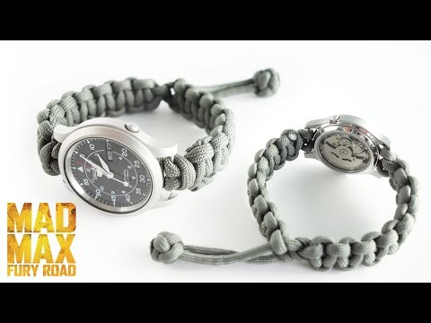 How to Make a Mad Max Paracord Watch Strap Tutorial
