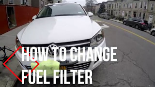 DIY How To Change Fuel Filter in TDI VW Touareg /Audi Q7/Porsche Cayenne
