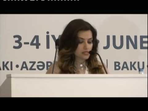 """Caspian Oil and Gas 2015"" - Gulmira Rzayeva"