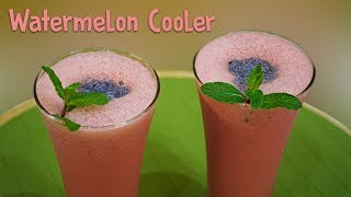 Watermelon Cooler Recipe - Super Cooler | Kids Special Drink | Chef Harpal Singh