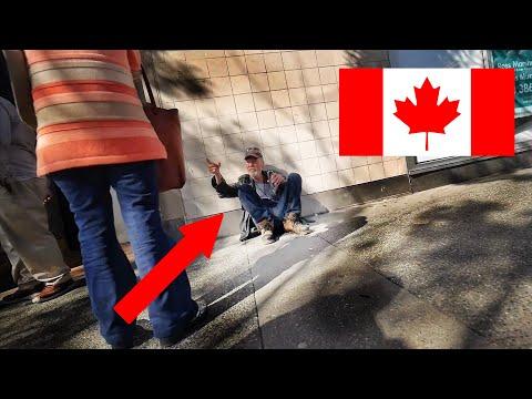 БЕЗДОМНЫЕ И БОМЖИ В КАНАДЕ - Жизнь в Канаде 2019 | Виктория Британская Колумбия Канада