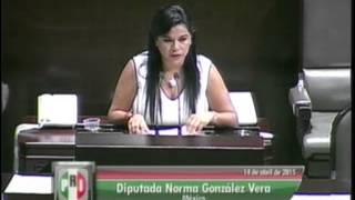 Dip. Norma González (PRI) - Ley de Caminos, Puentes y Autotransporte Federal