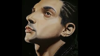 Speed Painting - Sean Paul in Soft Pastels