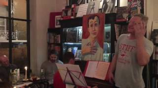Andy Bell ( Erasure) ~ Sometimes (live from the Torsten book launch, Soho)