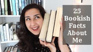 25 Bookish Facts About Me!