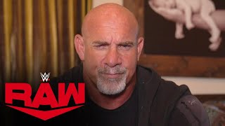 Goldberg plans to make Bobby Lashley his next victim: Raw, Sept. 27, 2021