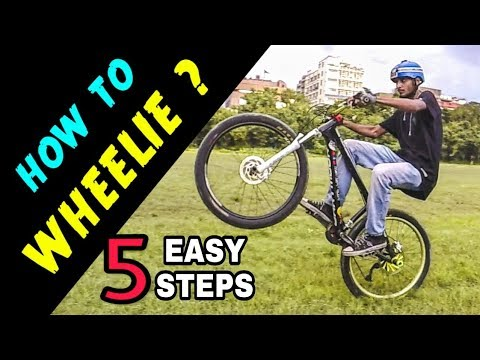 How to Wheelie | Infinity Riderzz Kolkata | MTB Stunts 2018