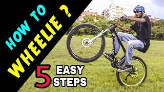 How to Wheelie | Infinity Riderzz Kolkata | MTB Stunts 2018