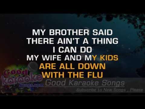 Busted -  Ray Charles ( Karaoke Lyrics )