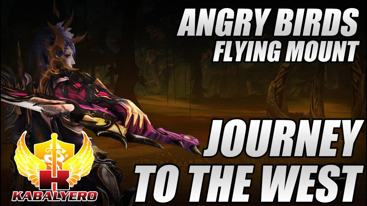 Journey To The West Online, Angry Birds Flying Mount