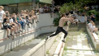 Parkour's first street competition 🇳🇱