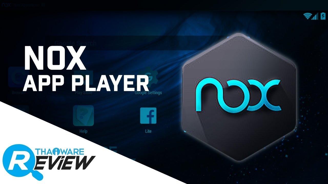 โปรแกรม nox : เป็นโปรแกรมคล้ายโทรศัพท์น่ะครับ