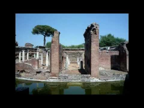 Maritime Theatre at Hadrian's Villa, Tivoli
