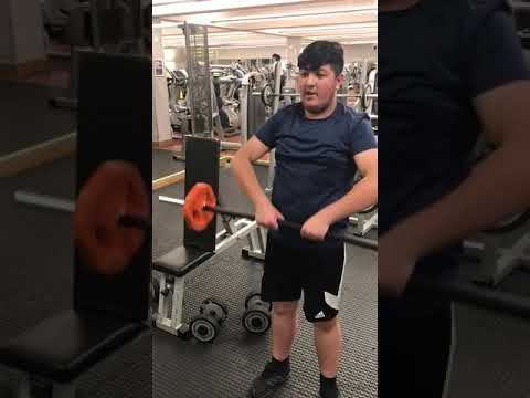 Weight training day helping the youth