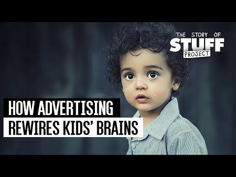How Advertising Rewires Kids' Brains
