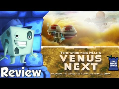 Terraforming Mars: Venus Next Review - with Tom Vasel
