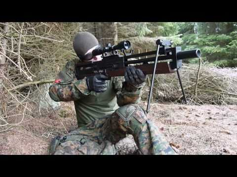 Airsoft Sniper - ARES Walther WA2000