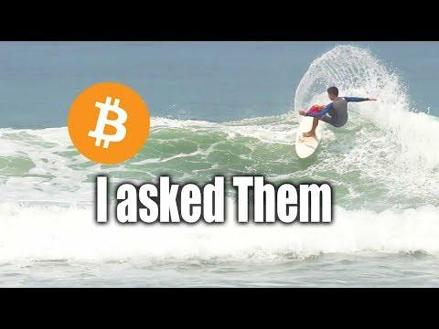 Surfers vs Bitcoin