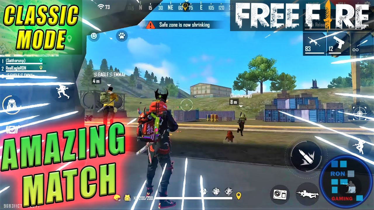 Free-Fire | Amazing Match With 27 Insane Kills Booyah!