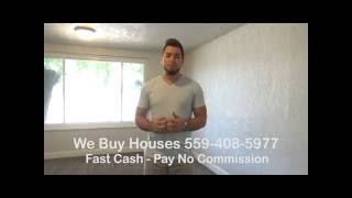 We Buy Houses Fresno, CA | 559-408-5977