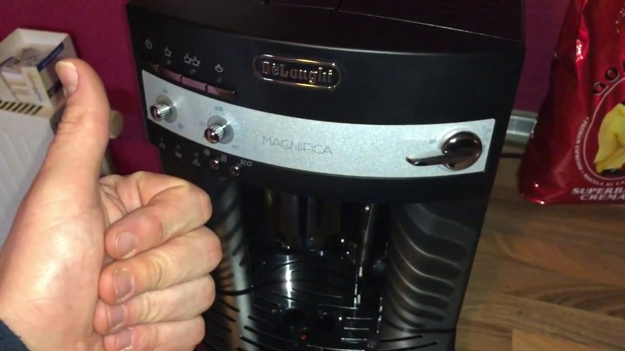 Delonghi Kaffeemaschine Mahlwerk Einstellen : Einstellung der temperatur delonghi magnifica esam 3000.b