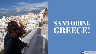 Solo Travel: Santorini in Winter