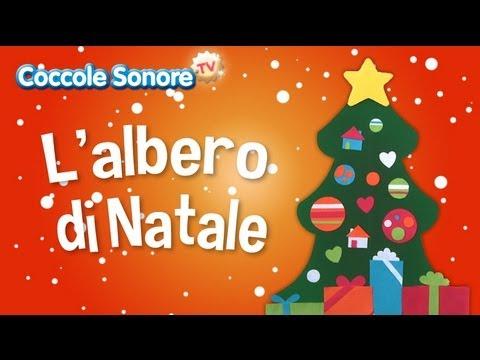 Albero Di Natale Zecchino Doro.L Albero Di Natale Canzoni Di Natale Coccole Sonore