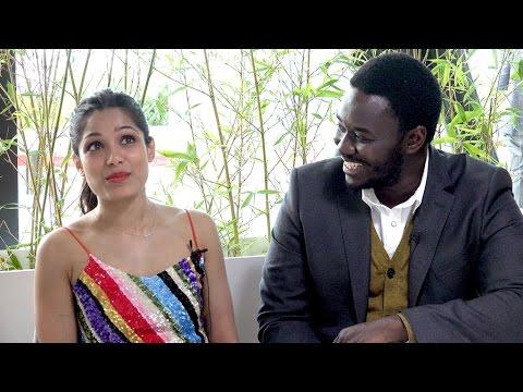 Guerrilla's Freida Pinto & Babou Ceesay