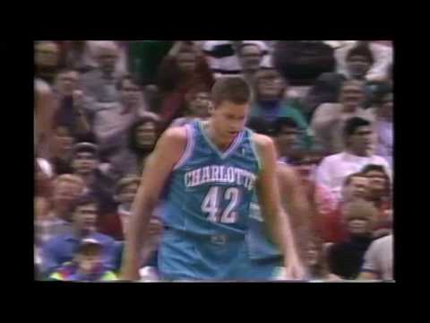 1992 Regular Season Charlotte@Utah HIGHLIGHTS