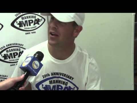 Brandon Stokley reflects on Manning Passing Academy