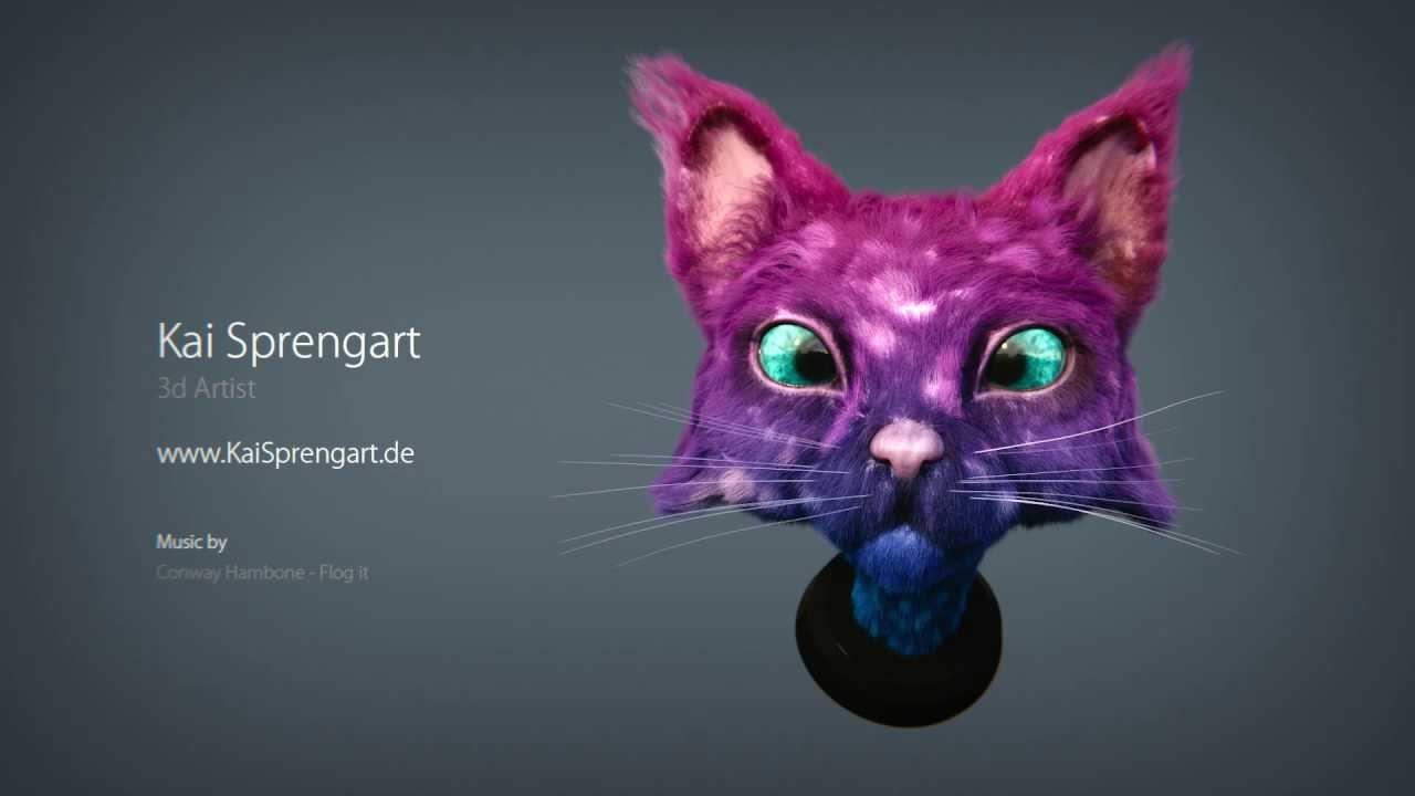 Kai Sprengart - 2013 - Miiuuuu! - 3d cat concept - Blender Cycles