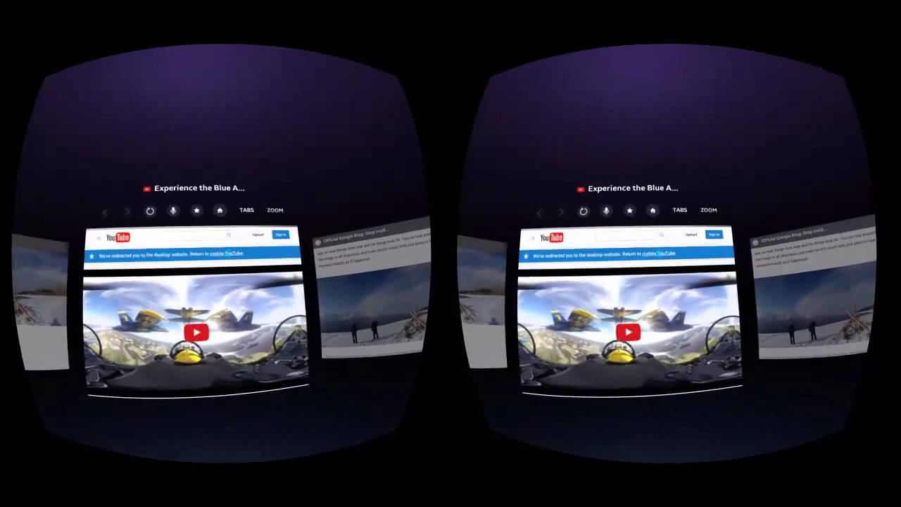 b0a4dfc2644b Inside Samsung Internet Beta for Gear VR - YouTube