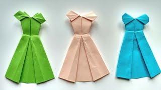 як зробити плаття з паперу своїми руками інструкція