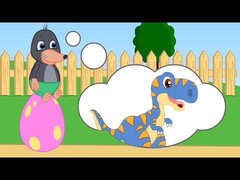Benny Mole en Español - Huevo De Dinosaurio Mágico Dibujos animados para niños 13+